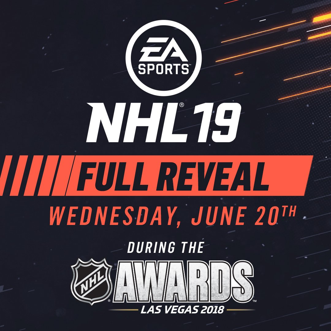 Get your first look at #NHL19 during the #NHLAwards  Tomorrow can't come soon enough! ��https://t.co/r3Y6VY7Kzz https://t.co/ZZzGBPEEKF
