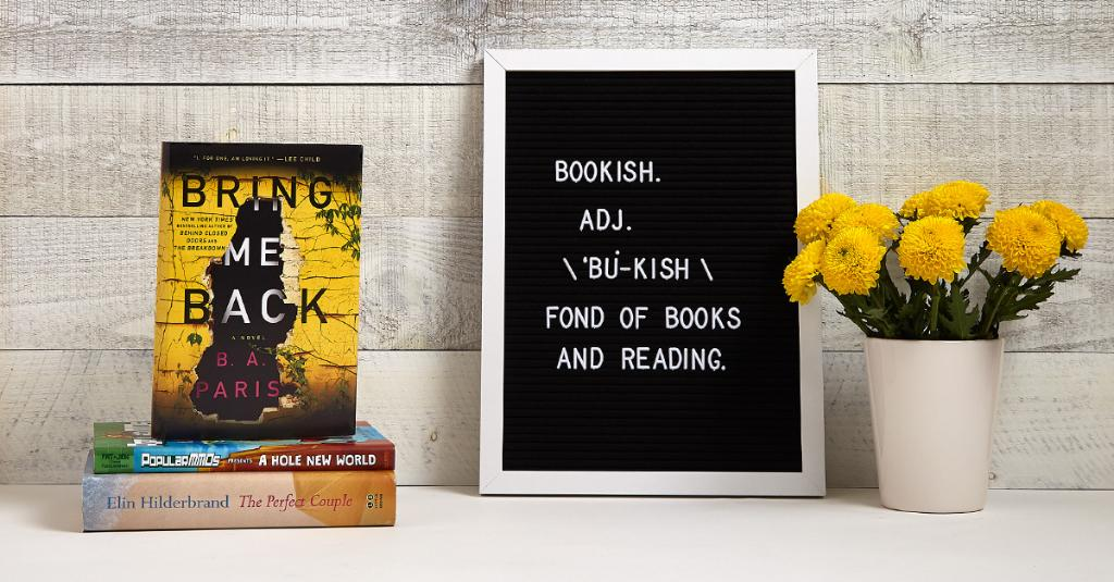 We're especially fond of these new books. What are you reading today? spr.ly/6012Dln5j #NewReleaseTuesday