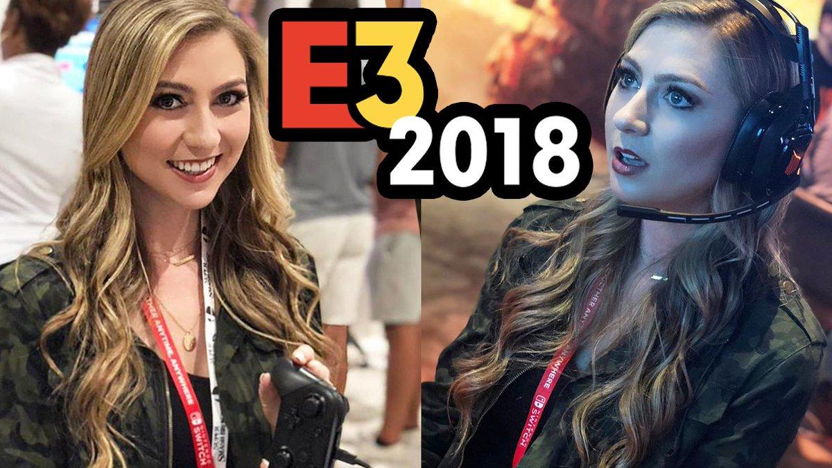 Check out my time at E3 2018! #AssassinsCreedOdyssey #SuperSmashBrosUltimate #KingdomHearts3 & MORE! #E3 #E32018 youtu.be/-RUTeqA7M9I