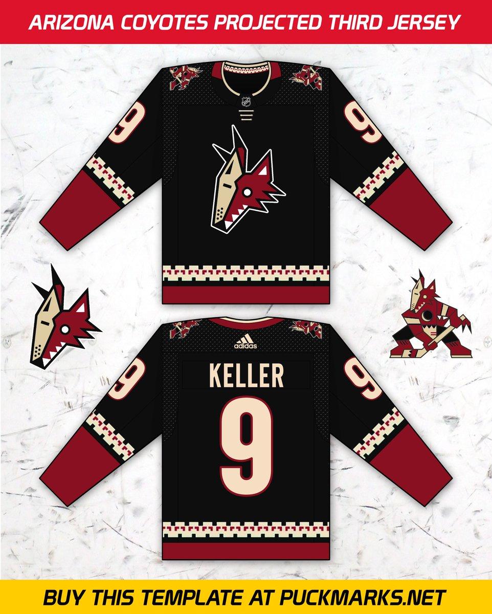 ... about the other third jerseys at http   buff.ly 2HaR5VS Buy this jersey  template at http   buff.ly 2sTL4Zp  yotes  arizona  jerseys  nhl  hockey   adidas ... 964833be000