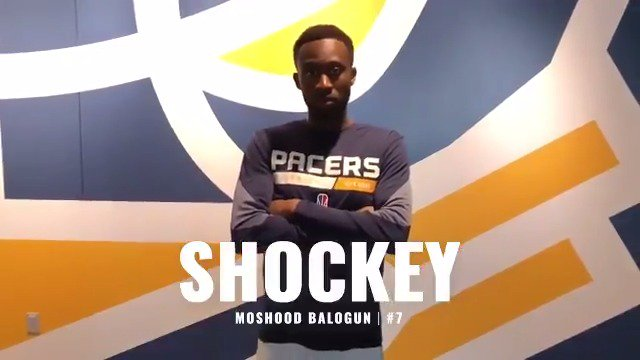 Welcome to our newest teammate, Moshood Shockey Balogun! @oShockey2k #PacersGaming