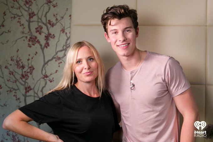 Did @ShawnMendes like the FakeID we made him? Find out, at 10:40pm! #iHeartRadioNights @AndreaCollinsFM Photo