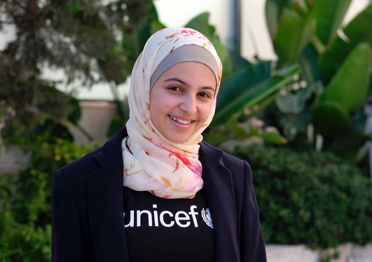 A year ago today I was appointed as @UNICEF s youngest Goodwill Ambassador. I am incredibly proud of our work to champion education for refugee children. I know the difference education can make, it was my lifeline when I fled Syria. #WorldRefugeeDay #AChildIsAChild