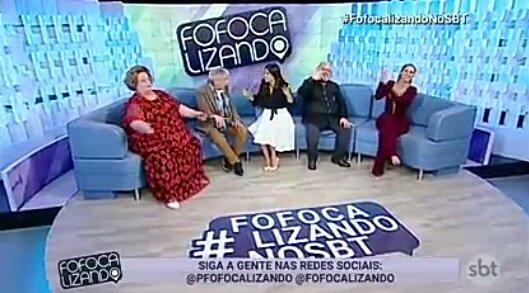 O #FofocalizandoNoSBT de hoje 😅🔥 Agora só amanhã com mais notícias bombásticas no @pfofocalizando! Fiquem agora com #CasosDeFamília 😉👍 no @SBTonline. Foto