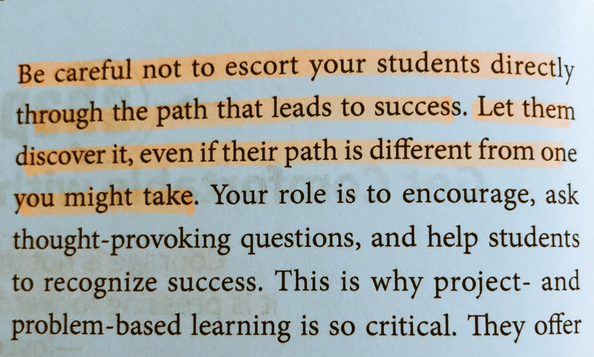Let that simmer for a minute... #ShakeUpLearning