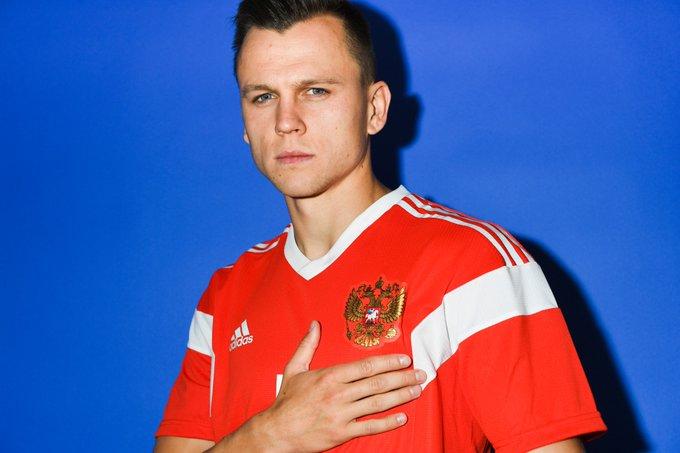 2x0! Cheryshev marca o segundo gol da Rússia contra o Egito! #ESPNnaRússia Foto