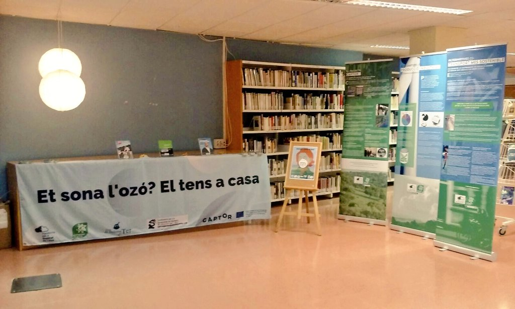 """test Twitter Media - Today at the conference """"Osona, area of tropospheric ozone"""", in Torelló (Spain). You can visit the Exhibition""""Ozone pollution in Catalonia"""" until June 26th. More info 👉 https://t.co/QmCCKT7zAR  #captorproject #ozonepollution https://t.co/aTeCp1muhM"""