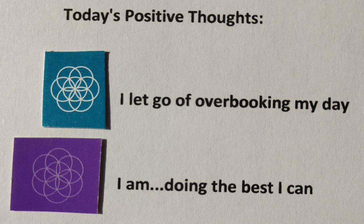 test Twitter Media - Today's Positive Thoughts: I let go of overbooking my day and I am...doing the best I can. #affirmation https://t.co/1IxnA0wBGE