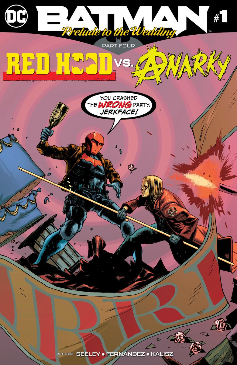 Someone has to keep an eye on Catwoman during her Bachelorette Party, and Jason Todds honored to do the job! @comicsbeat shares an exclusive preview of BATMAN: PRELUDE TO THE WEDDING — RED HOOD VS. ANARKY #1: bit.ly/2I0ECoc