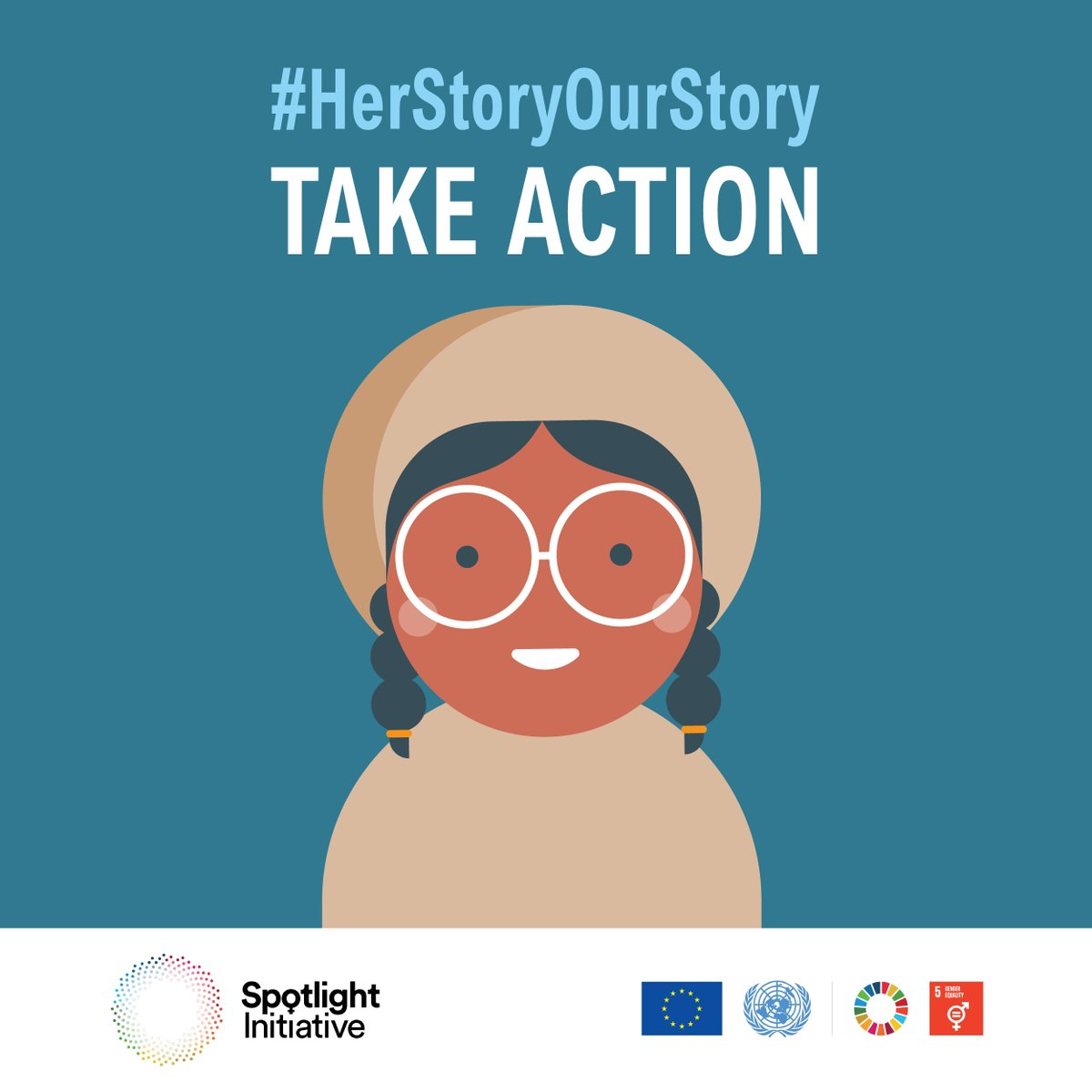 Violence against women and girls must be stopped, everywhere. #EndRapeinWar #HerStoryOurStory #SpotlightEndViolence
