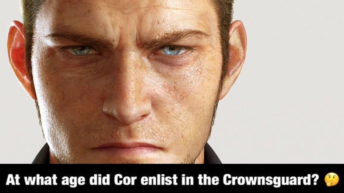 Cor the Immortals heroic feats make him the stuff that legends are made of. Can you answer this weeks #FFXV #TriviaTuesday ?