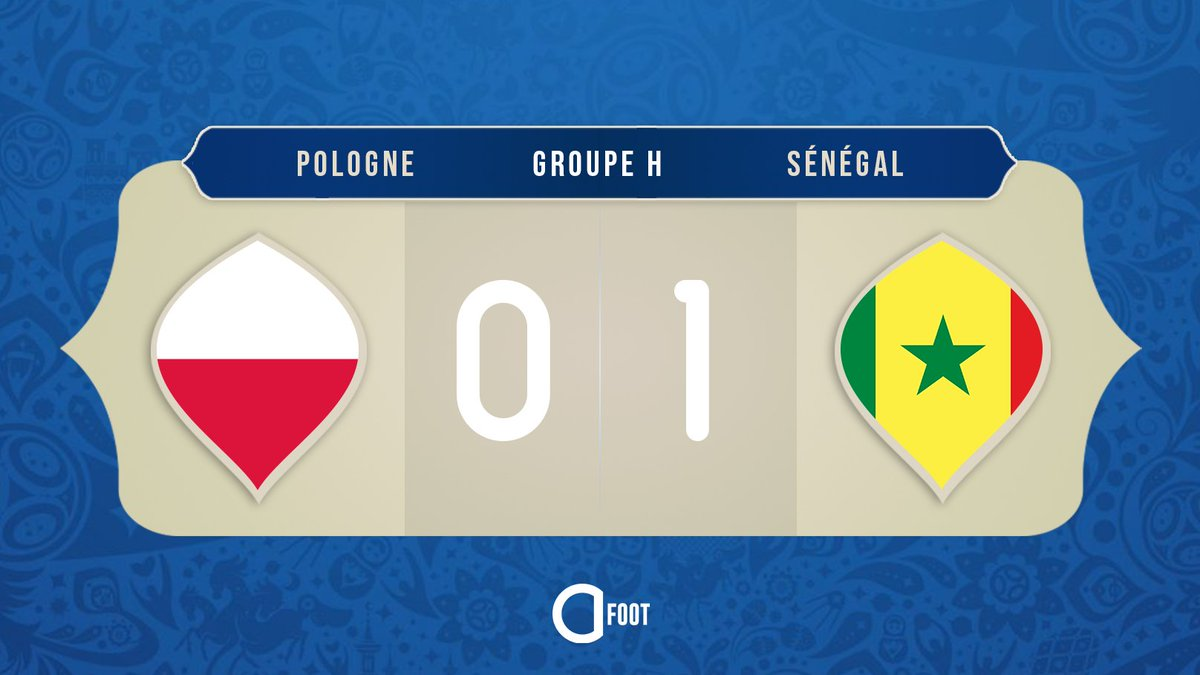 ⚽ BUUUUUUUUUUTT DE GUEYE !!!  POLOGNE 🇵🇱  0-1  🇸🇳 SÉNÉGAL