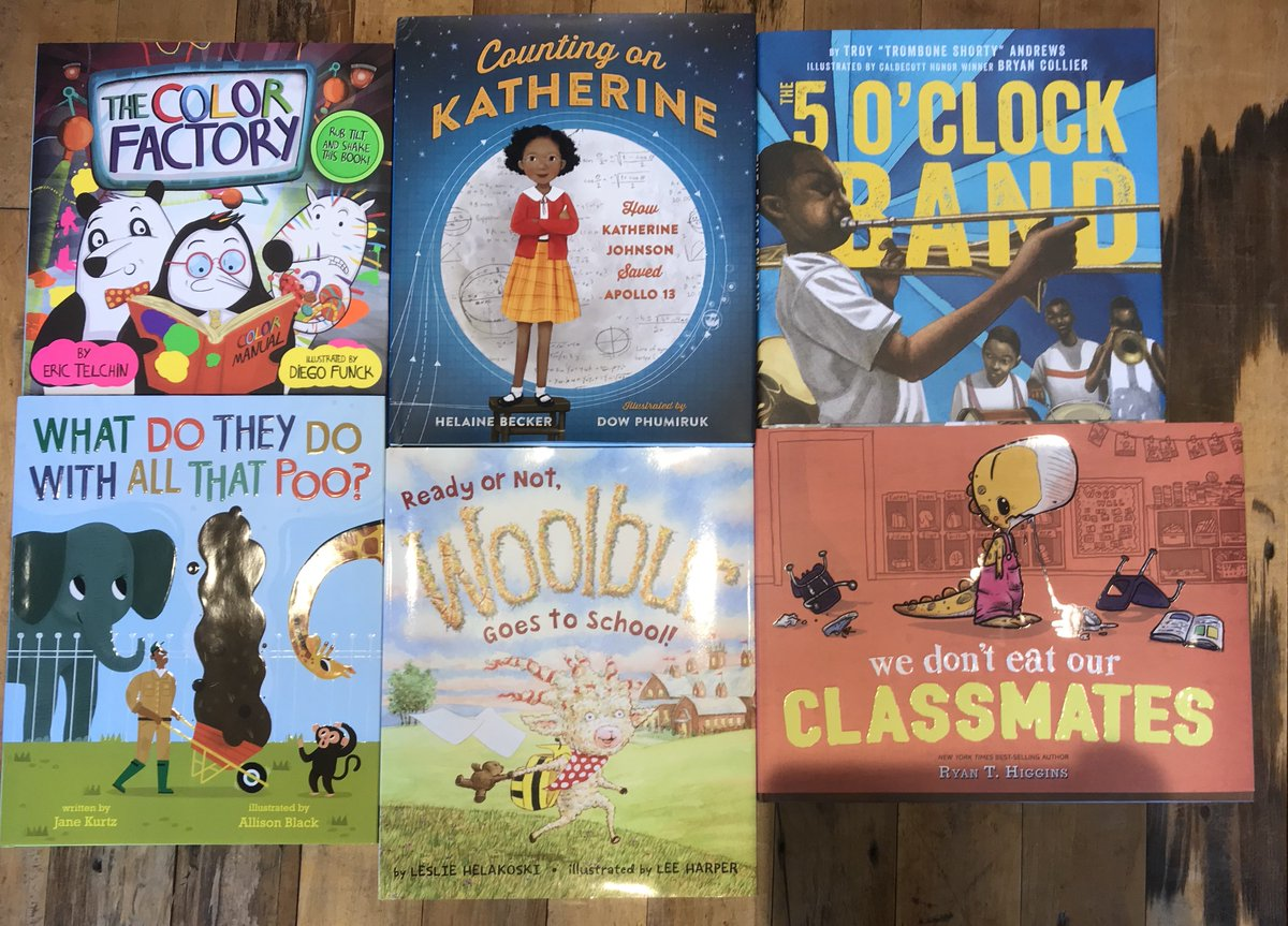 Our staff read &quot;We Don&#39;t Eat Our Classmates&quot; aloud this morning and it&#39;s a good thing we weren&#39;t open yet because we were all ugly laughing; it is that funny. Happy #bookbirthday to all these new picture books bringing beautiful, funny, important stories to kids everywhere! <br>http://pic.twitter.com/HLsLccpdEY