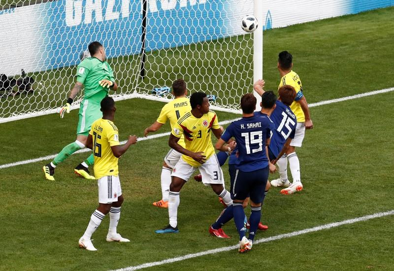Japan sink 10-man Colombia in historic win for Asia https://t.co/pxqxOUmdMy https://t.co/F3CovZEfRp
