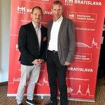 ECM President Dieter Hardt-Stremayr speaking at meeting with stakeholders of the Bratislava Tourism Board on branding promise. This is how ECM works. Members know best. @bestfriendgraz #WeAreECM
