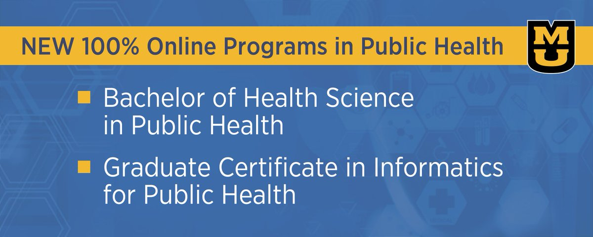 Mizzou Online On Twitter Be A Publichealth Hero Address Mo