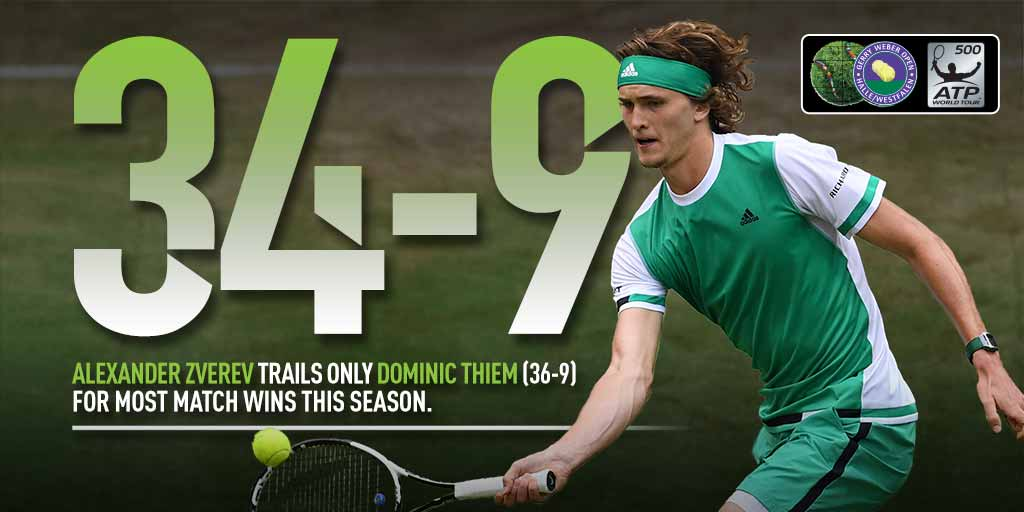 The race is on ��  #GerryWeberOpen https://t.co/P3gSph8O72