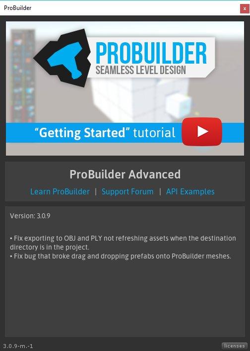 ProBuilder-Unity on Twitter:
