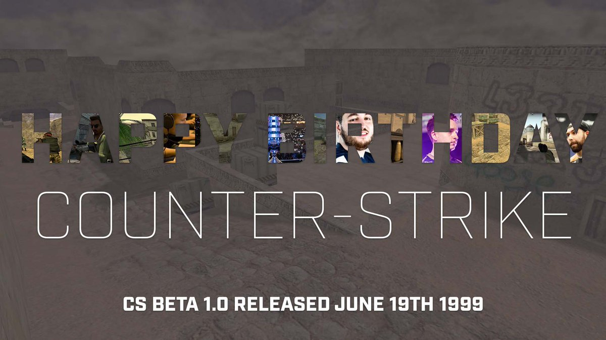 Резултат с изображение за 19 years counter strike