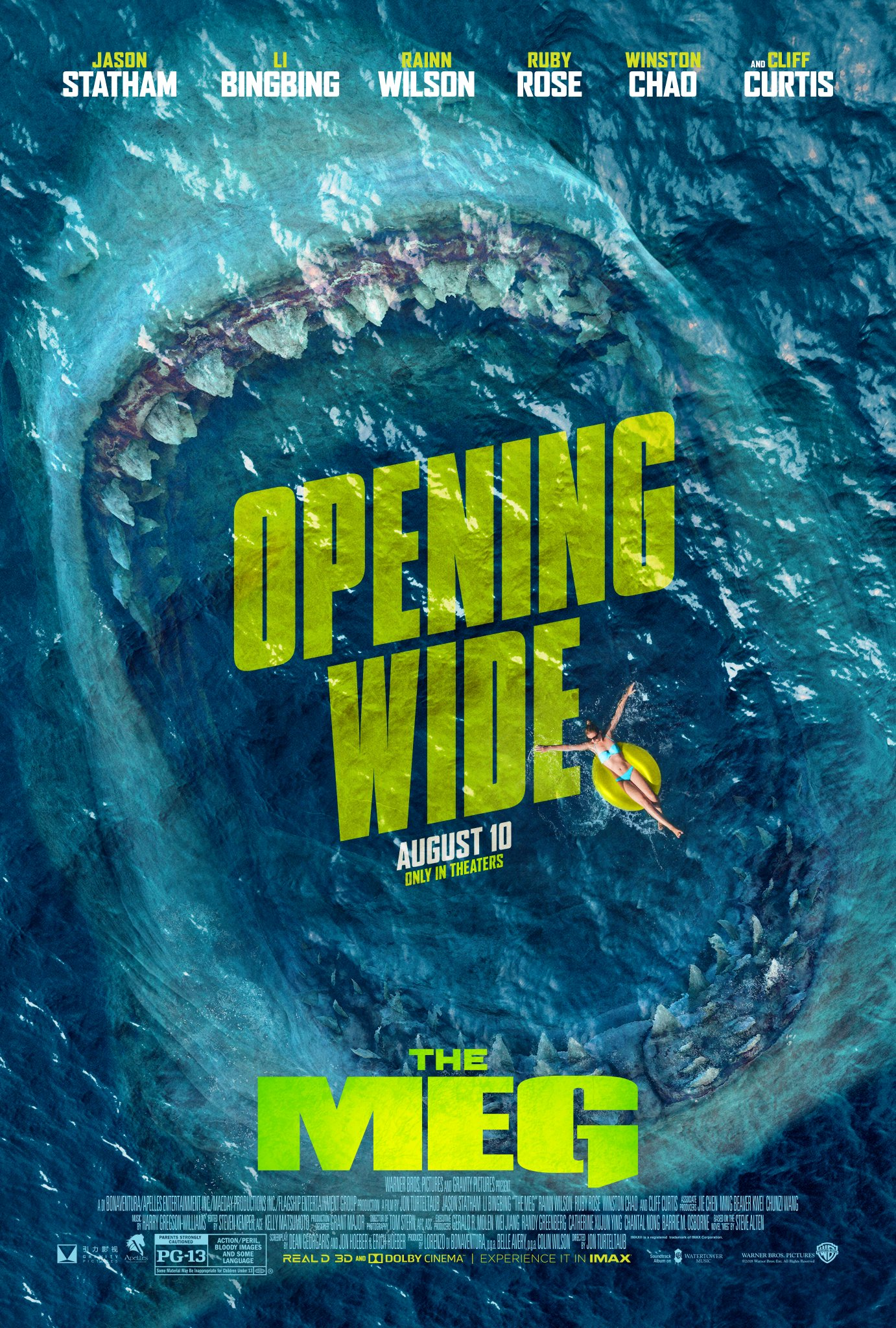 Image result for The Meg 2018
