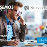 Capture employee responses anytime, anywhere with SurveyRocks by @SemosCloud. Free trial at https://t.co/maoKsSn2b5 #SuccessConnect