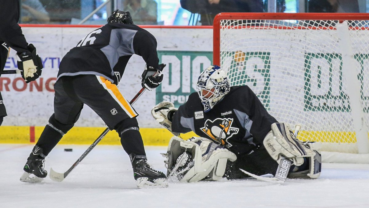 Hockey is on the horizon.  Prospect development camp will take place next week, June 27-29, at the UPMC Lemieux Sports Complex. Details: https://t.co/cE01FnsbST