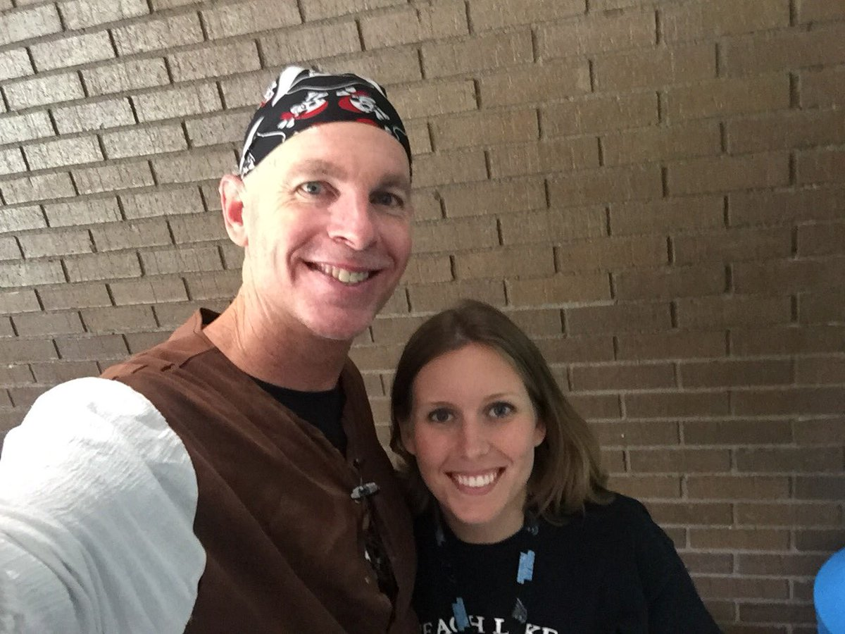 Yay! So excited to experience another #tlap keynote in SC today! The Pirate message always gets me pumped!