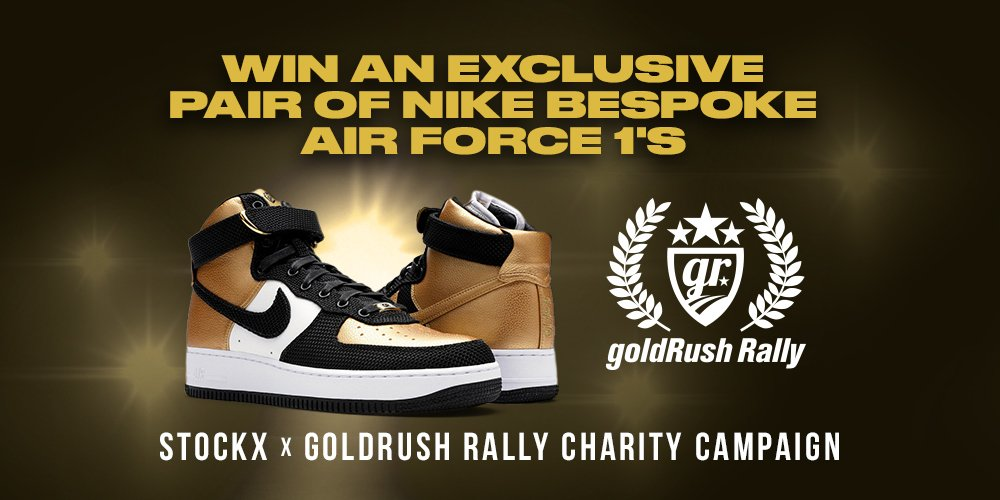 ... with all net proceeds going to benifit the Taylor Lynn Foundation.  Enter Here  https   stockx.com charity gold-rush-rally  …pic.twitter.com oUqWwBjz48 ae725a0e1df4