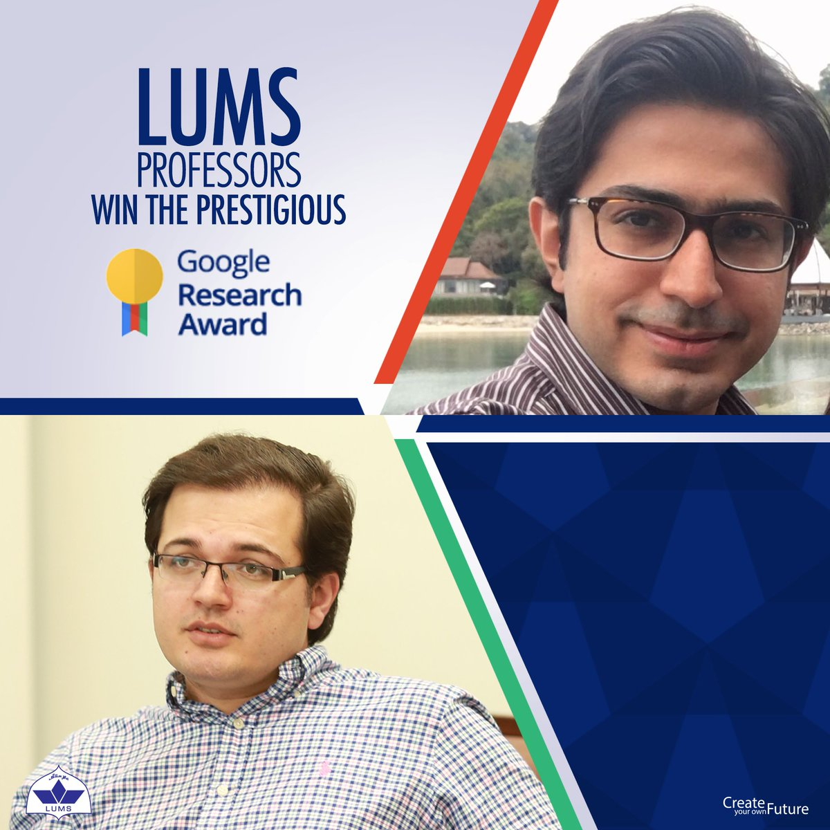 Image result for Pakistan LUMS professors win Google Faculty Research Award