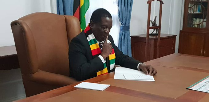 In the new dispensation we promised that good governance and the economy must come before politics. So despite being at the height of campaign season, we will not stop working tirelessly to build a flourishing new Zimbabwe for all. Photo