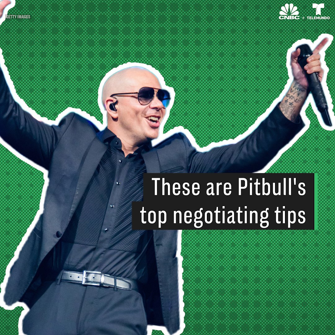 Grammy-winner @pitbull reveals his top negotiating tricks that you can easily replicate. http://cnb.cx/2theQqo via @CNBCMakeIt