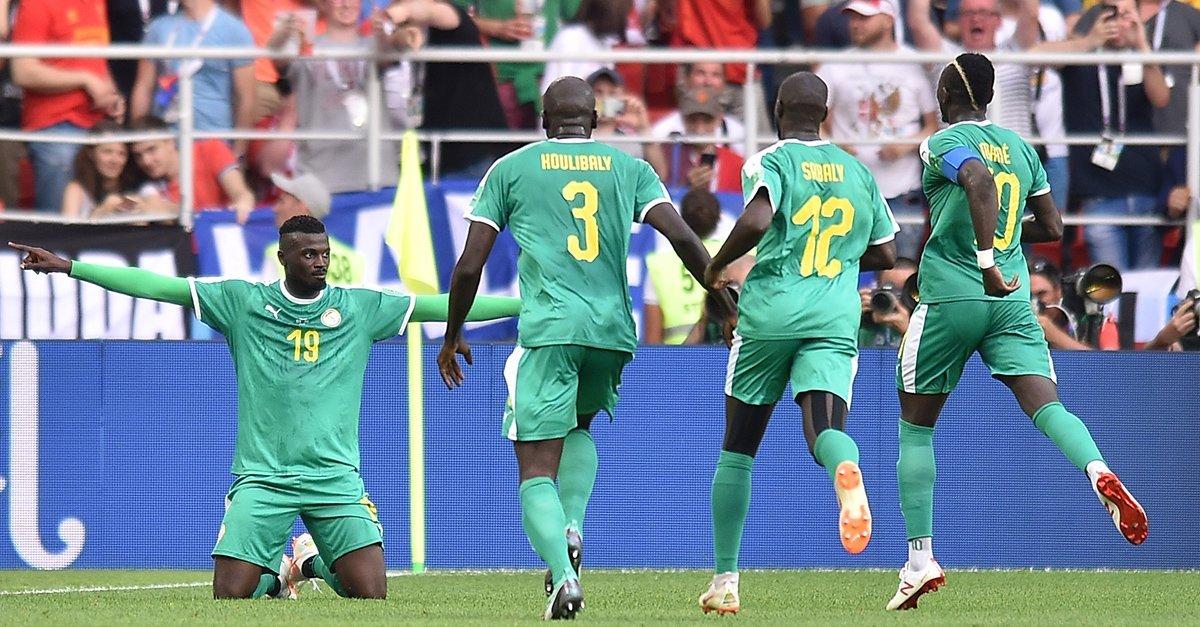 أهداف مباراة السنغال وبولندا في المونديال