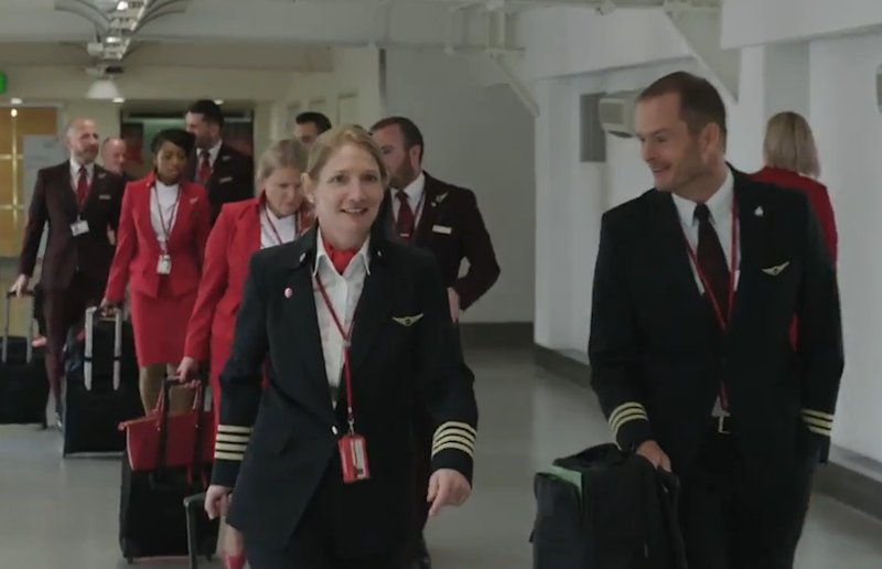Watch how the @VirginAtlantic pilots are helping to reduce fuel use and carbon emissions