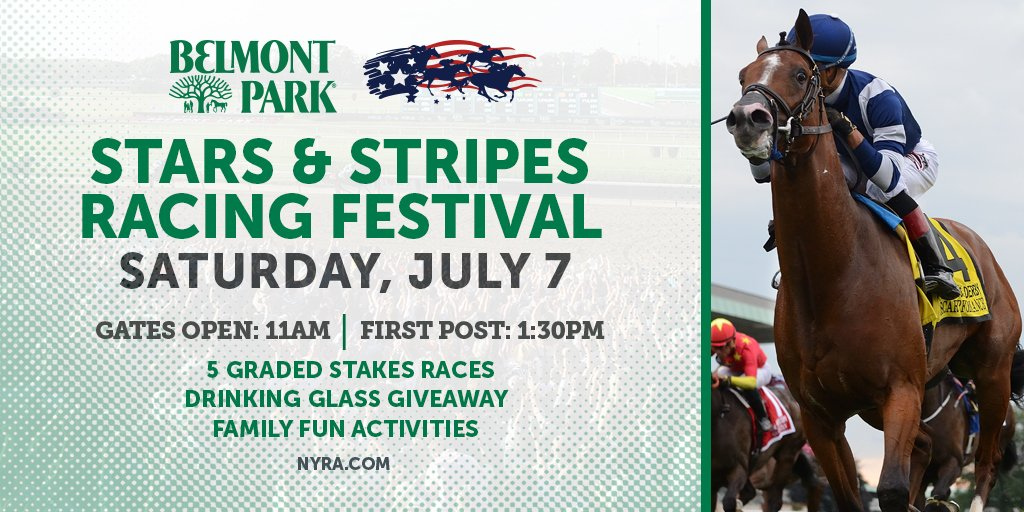 Its almost time for the Stars & Stripes Racing Festival at #BelmontPark! Whos joining us? Plan your trip: bit.ly/2lgMmJU