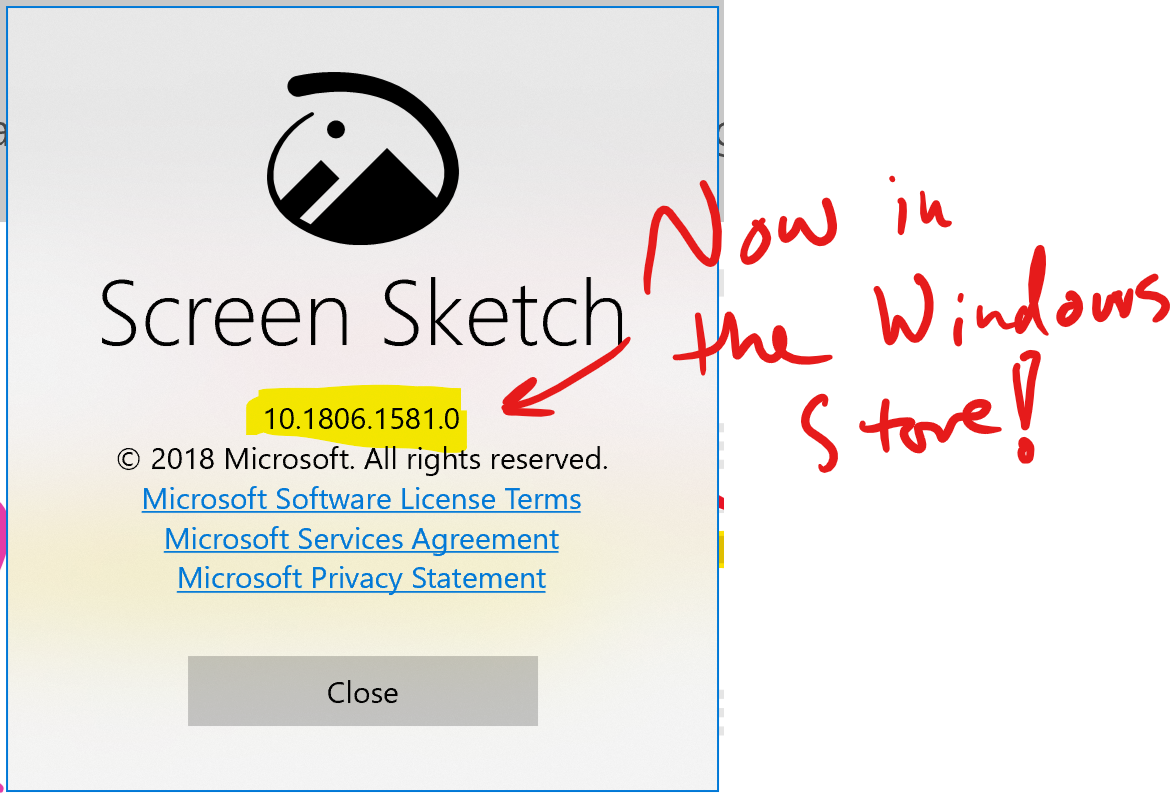 Snip Sketch For Windows 10 A Twitter Hey Windowsinsiders Check Out The Updated Screensketchapp In The Store New Mouse Cursors Hint Try To Hold The Ctrl Key And