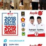 #2018AsyikMenang Twitter Photo