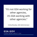 GSA is uniquely positioned to help federal govt best serve the American people. The better our agency performs, the more our fellow federal agencies are able to ensure the nation's security, protect public health & strengthen communities. https://t.co/mnHanzuv4a #GSAStrategicPlan