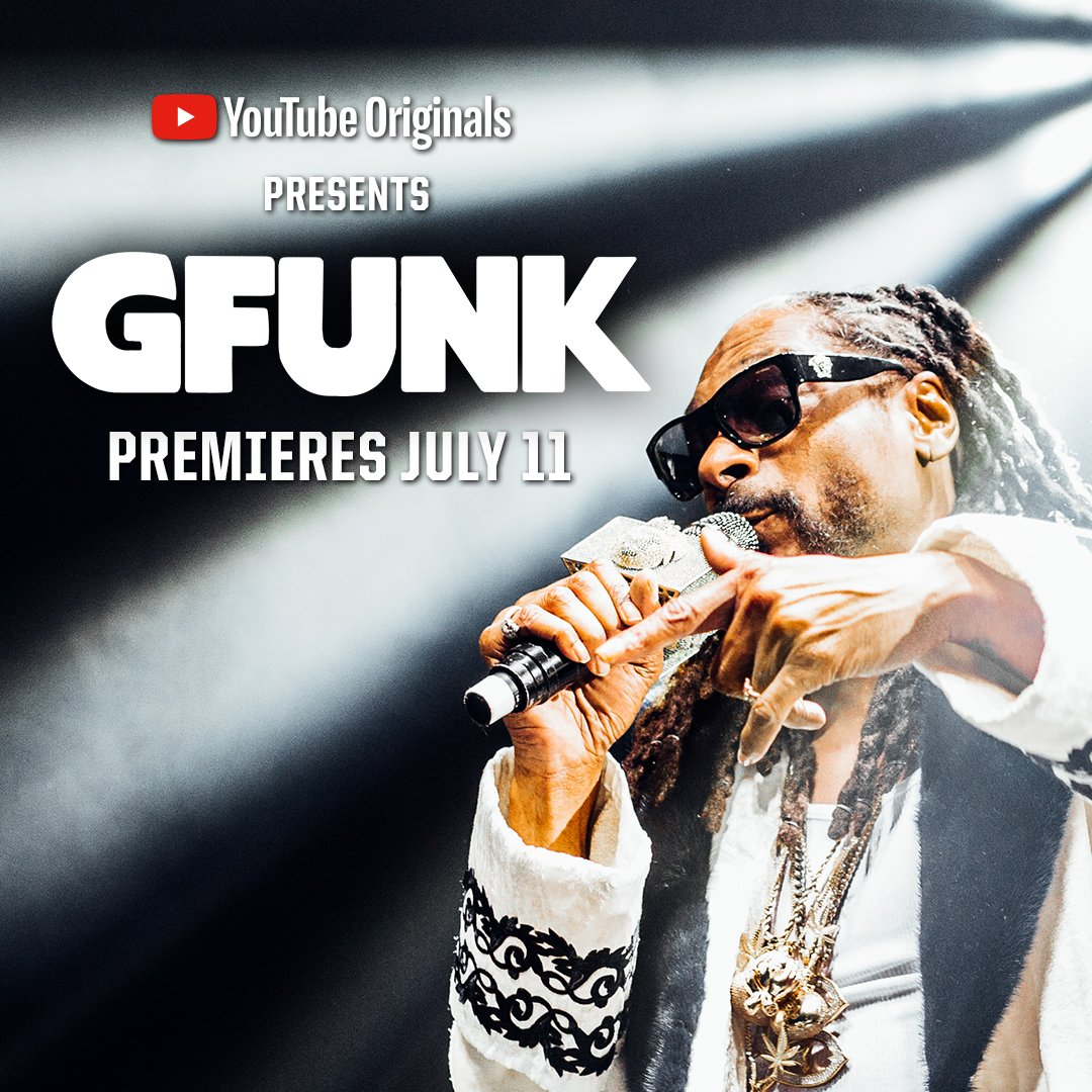 Bringing the story of G Funk wit @regulator to @YouTube July 11 ✨���� #GFunkDoc https://t.co/vLWFb3g9Hj