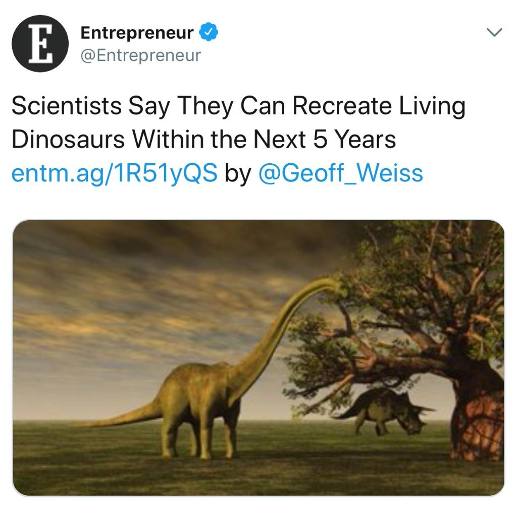 Science: We've got a huge breakthrough, everyone!  Us: Oh, cool. You guys cure cancer?  Science: Even better... https://t.co/dvdrW6o752
