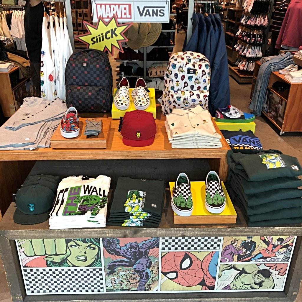 Spotted! Marvel themed Vans shoes