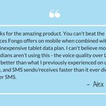 Thanks Alex! We love hearing feedback from our customers #TestimonialTuesday