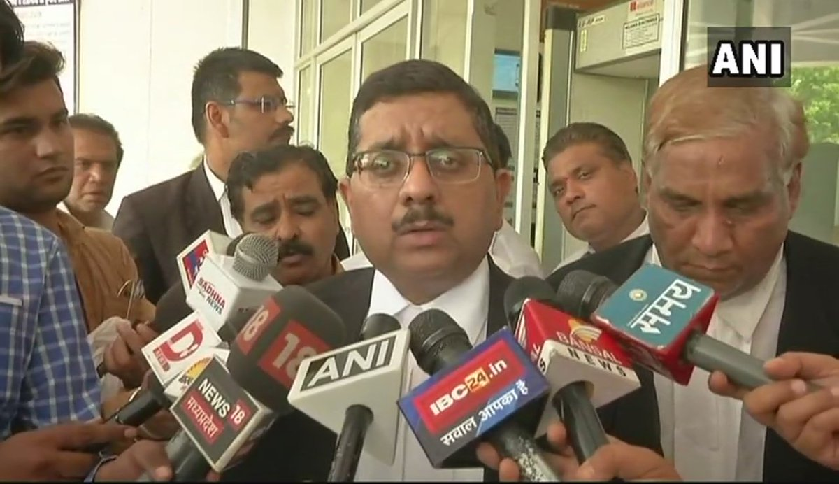 Saroj Singh has filed a case against her son Rahul (Ajay Singh) under Domestic Violence Act as he isnt letting her live in her house in Bhopal. Her appeal has been accepted. Court will give directions in the case: Lawyer of Saroj Singh, wife of former MP CM Arjun Singh