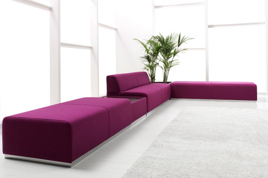 Our Pau sofa really pops in purple! Use our modular configurator to pick your favourite colorway https://t.co/s0vY3FJ5sj