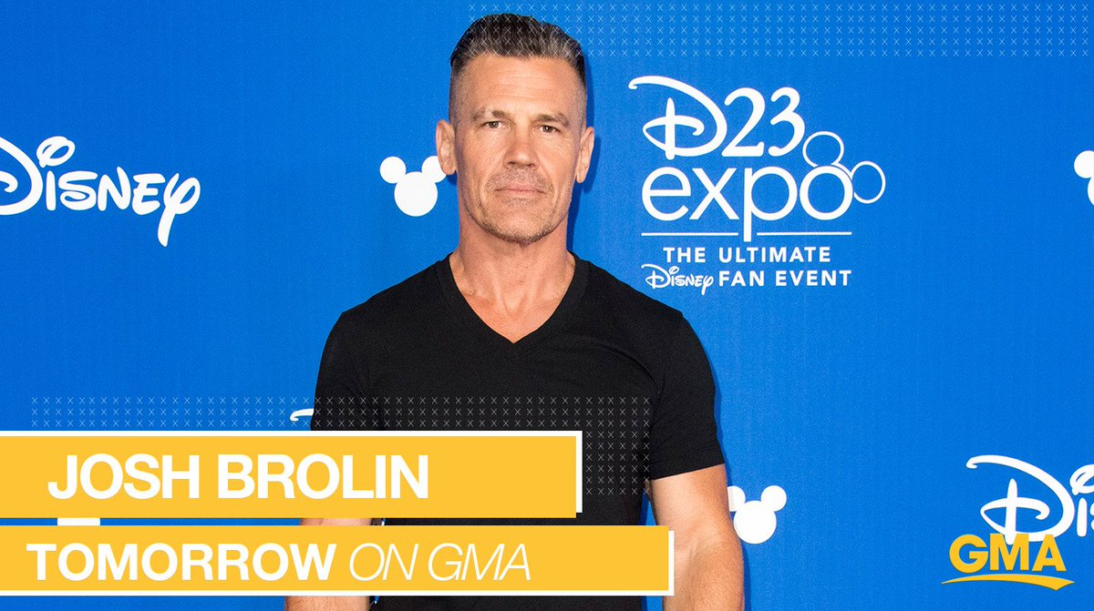 Tomorrow: Josh Brolin joins us LIVE in Times Square to talk about @SicarioMovie!