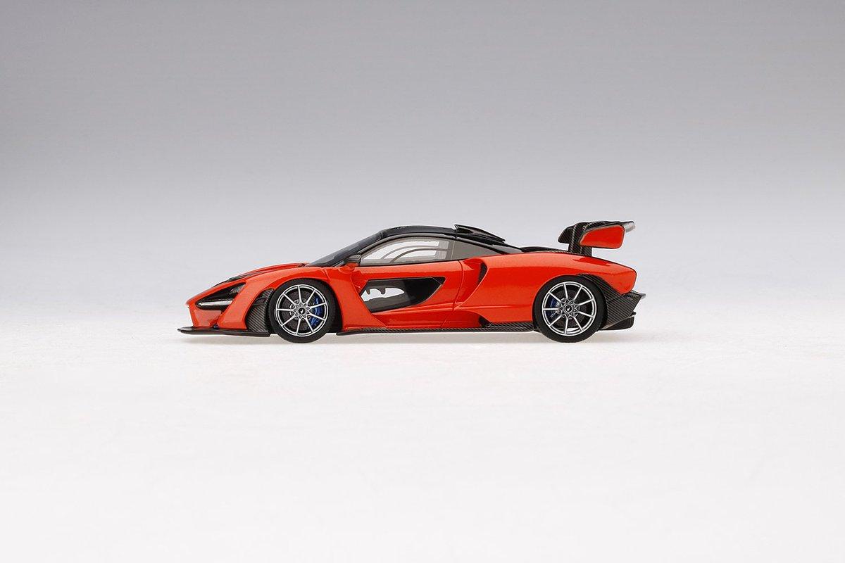TSM430395 McLaren Senna TSM 1:43 Mira orange