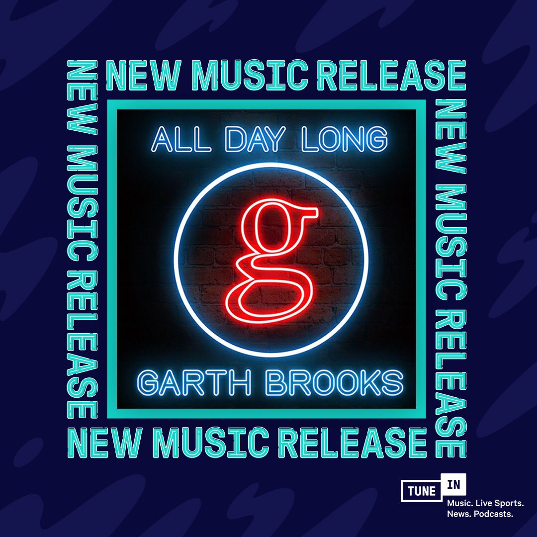 Tunein On Twitter Country Legend At Garthbrooks Just Released His
