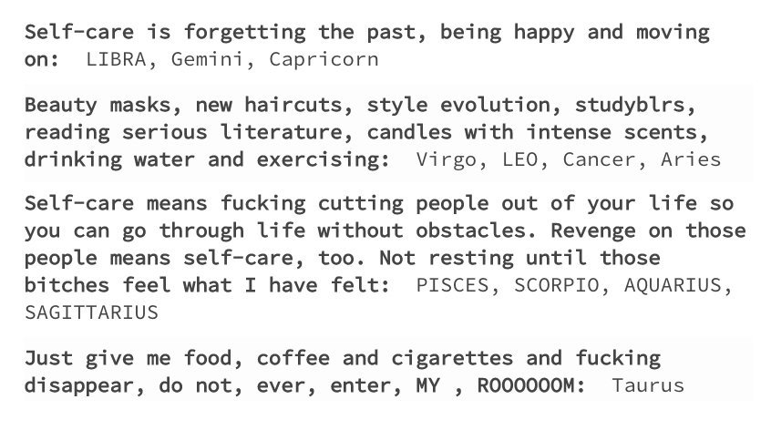 Zodiac Signs on Twitter: