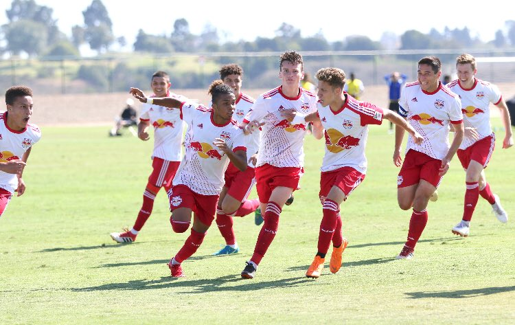 @RedBullsAcademy They're coming... @NewYorkRedBulls might wanna try the uniform combo btw