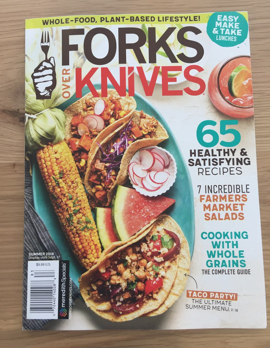 Our summer magazine officially hits stores today! You'll find it in the U.S. and Canada in places like Walmart, Target, Kroger, Publix, Albee, Whole Foods, and many more! The mag can also be sent straight to your doorstep from https://t.co/11eQHMn682 #vegan #plantbased