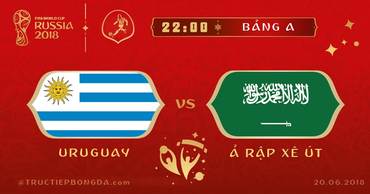 Uruguay vs Ảrập Xêút